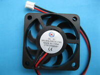 2507 Brushless Cooling Fan 2Pin 12Krpm 1x1x0.5in 1x DC 5-12V 80mA 25x25x10mm