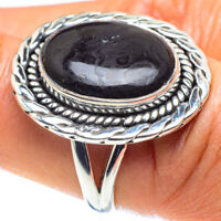 Psilomelane 925 Sterling Silver Ring Size 7.5 Ana Co Jewelry R58890F