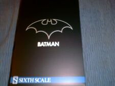 SIDESHOW 1/6 SCALE DC BATMAN GOTHAM KNIGHT VERSION COLLECTORS FIGURE F/COMIC
