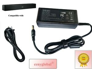 Gloger AC Adapter For Bose Solo 5 Sound Home Theatre System TV DC Power Supply