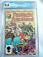 Marvel FANTASTIC FOUR ANNUAL #18 CGC 9.4 NM White Pages John Byrne 1984