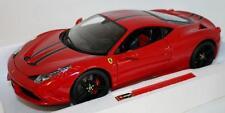 Bburago Bu16903 Signature Ferrari 458 Speciale 2014 Red 1 18 Modellino