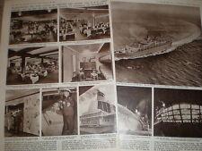 Photo article exterior interior new orient line ocean steamer SS Oriana 1960