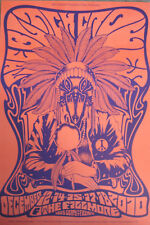 Black Crowes Fillmore Poster F1075 Red Original Bill Graham Mint Alan Forbes