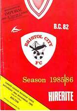 BRISTOL CITY V BOLTON WANDERERS 30 NOV1985 SIGNED DAVID TONG! VGC. UNIQUE