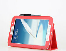 Etui hoes housse multi-angles orange pour tablette Samsung Galaxy Note 8.0