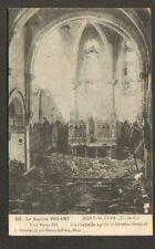 MONT SAINT ELOI (62) EGLISE en 1915 / F.M. TRESOR et POSTES N°143