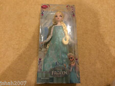 New Disney Store Exclusive Frozen Sparkling Princess Elsa Doll NEW **LOOK**