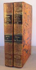 MEMOIRES DE MISTRISS HUTCHINSON 2vol / RELIURE 1/2 CUIR 1827 / ANGLETERRE GUIZOT
