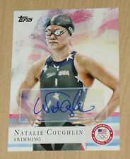 2012 Topps Olympics autograph Natalie Coughlin Swimming