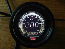 -High quality 52mm AFR Wideband gauge UEGO Air/Fuel Ratio - Selectable Red White