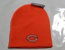Chicago Bears Knit Beanie Winter Hat Toque Skull Cap NEW Orange