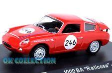 """1:43 ABARTH 1000 BIALBERO """"RATICOSA"""" - 1963 + COPERCHIO BOX RIGIDO"""