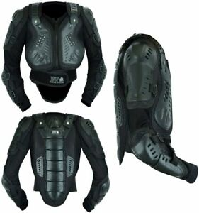 Kids Motorbike Motorcycle Body Armour Protective Safety Hard Armour Guard Jacket