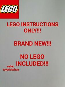 Lego Ideas Adventure Time 21308 ☆ INSTRUCTIONS ONLY ☆ NEW