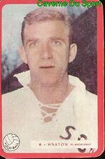 006 KAZIMIR HNATOW SCO.ANGERS FOOTBALL CARTE MIROIR SPRINT 1960's RARE