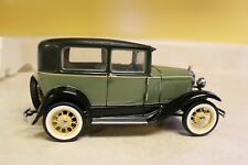 New ListingFranklin Mint Precision Models 1930 Ford Model A Tudor Green/Black With Title