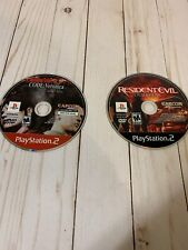 RESIDENT EVIL OUTBREAK PLAYSTATION 2 And Resident Evil Code Veronica