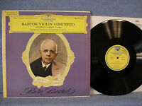 Gyorgy Garay, Herbert Kegel, Bartok Violin Concerto, DG 138 786 SLPM, Classical