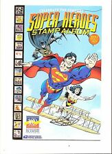 Celebrate The Century USPS SUPER HEROES Stamp Album VOL 1 1900-1909 Comic-Mint