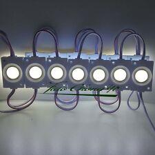 2.4W injection COB LED Module light,DC 12V advertising light Cool white IP65