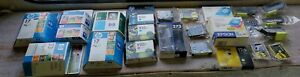 Lot of 24 HP Epson Canon Genuine Ink Cartridges New Sealed Expired Reseller Haul