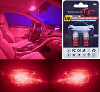 LED 5050 Light Red 194 Two Bulbs License Plate Tag Upgrade Lamp SMD JDM Show