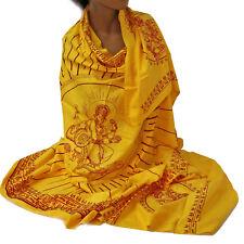 Schal Tuch Lunghi Sarong  Mantra  Benares Dekotuch Ganesh Ganpati Om Indien 20