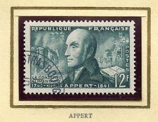 STAMP / TIMBRE FRANCE OBLITERE N° 1014 / CELEBRITE / NICOLAS APPERT