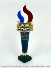 1980s Bud Light Olympics Torch 10 inch Tap Handle TavernTrove