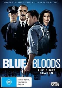 BLUE BLOODS Season 1 starring Tom Selleck (6-disc DVD set, 2011)