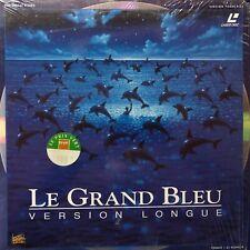 LASERDISC - LE GRAND BLEU - WS VF - VERSION LONGUE - PAL - COMME NEUF