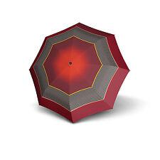 Knirps T200 Duomatic Women's Print Umbrella - Brussels Fire