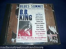 Blues Summit - B.B. King (CD 1993) VG++ Fast FREE Shipping Cray Guy Hooker