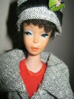BARBIE VINTAGE #3 DOLL WEARING #954 -'63-64 'CAREER GIRL' OUTFIT