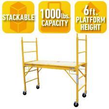 Pro Series 6 Ft. Multi-Purpose Scaffold with 1000 Lb. Capacity