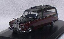 Daimler DS Bestattungswagen rot-schwarz 1:43 Oxford Modellauto / Die-cast