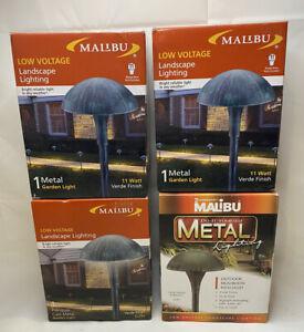 Wholesale Case of 4 Malibu 8304-9105-01 Pro Lights 11 Watt Verde New In Box