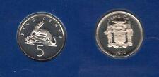 Jamaica Jamaique - 5 Cents 1976  Elisabeth II PROOF UNC FDC 24 000 exemplaires