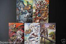 JAPAN Monster Hunter Portable 3rd Official Anthology Comic 1~5 Complete Set