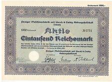 Peniger Maschinenfabrik und Unruh & Liebig AG Leipzig 1941 ungelocht   KIROW