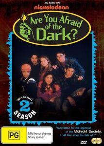 Are You Afraid Of The Dark : Season 2 (DVD, 2015, 2-Disc Set)--FREE POSTAGE