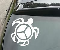 LARGE Peace Turtle Van/Car JDM VW DUB VAG EURO Vinyl Decal Sticker