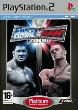 PlayStation2 : WWE SmackDown vs RAW 2006 Platinum (PS2) VideoGames
