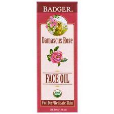 Badger Organic Damascus Rose Antioxidant Face Oil 30ml Oil. .