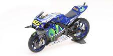 1:12 Minichamps 122163046 Valentino Rossi 2016 Bicicleta de carrera Yamaha YZR-M1 - Nuevo Y En Caja