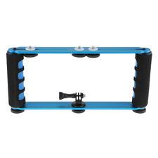 Underwater Dive Selfie Kit Dual Mount Handles For GoPro 6 5 4 3+ 2 Cameras