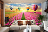 3D Sunset Hot Air Balloon 32 Paper Wall Print Wall Decal Wall Deco Indoor Murals