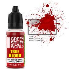 TRUE BLOOD efecto sangre 17ml - Aerografo y Pincel Pintura Acrilica Color