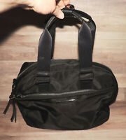 Steve Madden Large Black Nylon Tote Bag Handbag Purse